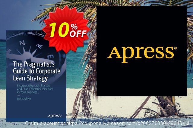 The Pragmatist's Guide to Corporate Lean Strategy (Nir) discount 10% OFF, 2020 Halloween offering sales