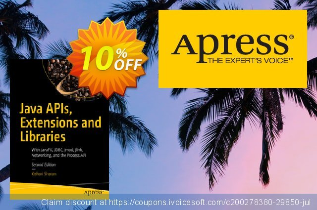 Java APIs, Extensions and Libraries (Sharan) discount 10% OFF, 2020 Halloween offering sales