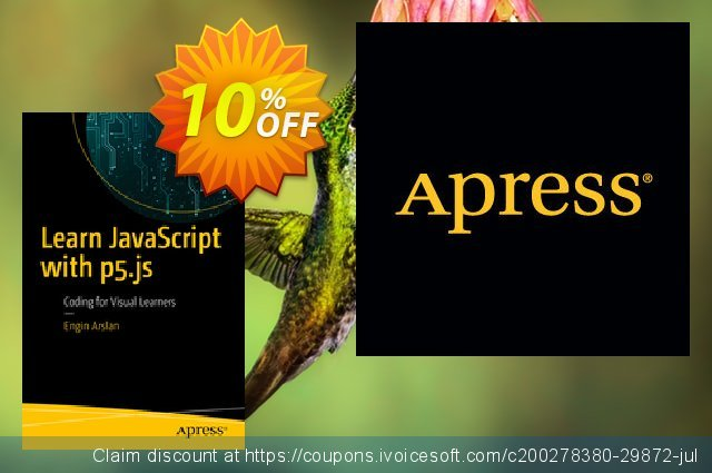 Learn JavaScript with p5.js (Arslan) discount 10% OFF, 2020 Halloween offering sales