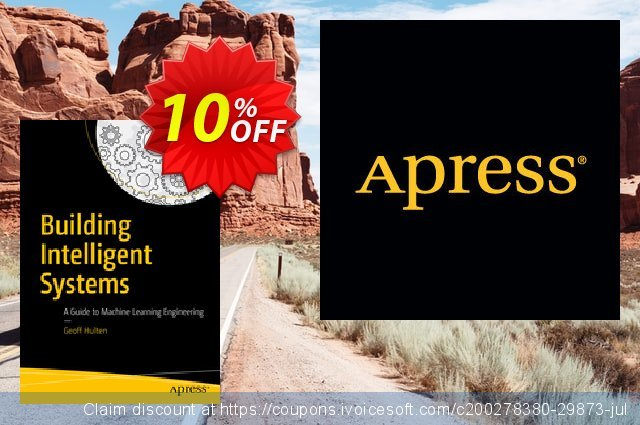 Building Intelligent Systems (Hulten) discount 10% OFF, 2020 Halloween offering sales