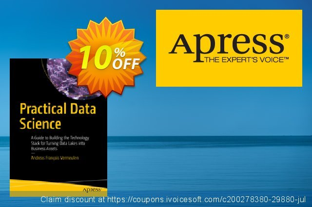 Practical Data Science (Vermeulen) discount 10% OFF, 2020 Halloween discount