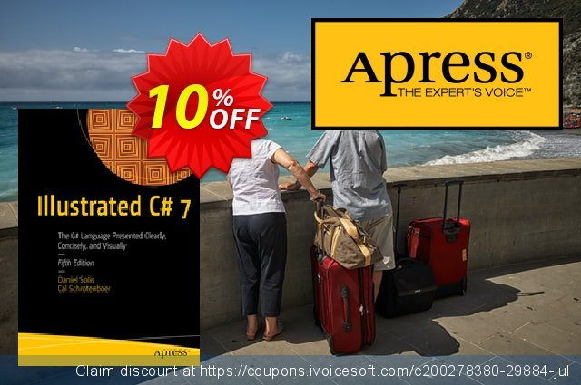 Illustrated C# 7 (Solis) discount 10% OFF, 2020 Halloween promo sales