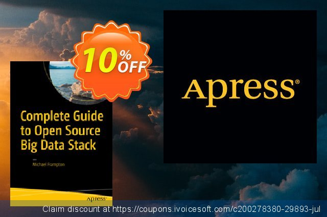 Complete Guide to Open Source Big Data Stack (Frampton) discount 10% OFF, 2020 Black Friday discounts