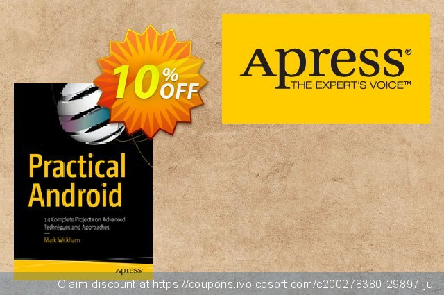 Practical Android (Wickham) discount 10% OFF, 2020 Xmas Day discount