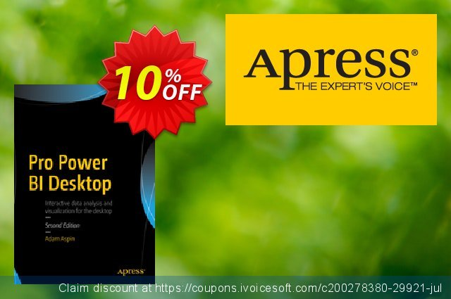 Pro Power BI Desktop (Aspin) discount 10% OFF, 2020 Thanksgiving promo sales