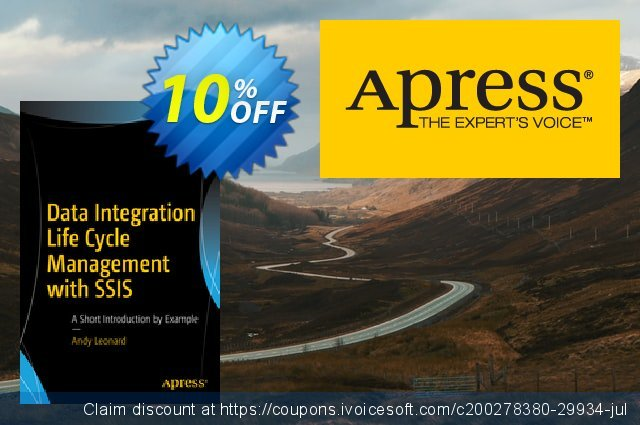 Data Integration Life Cycle Management with SSIS (Leonard) discount 10% OFF, 2020 Thanksgiving Day deals
