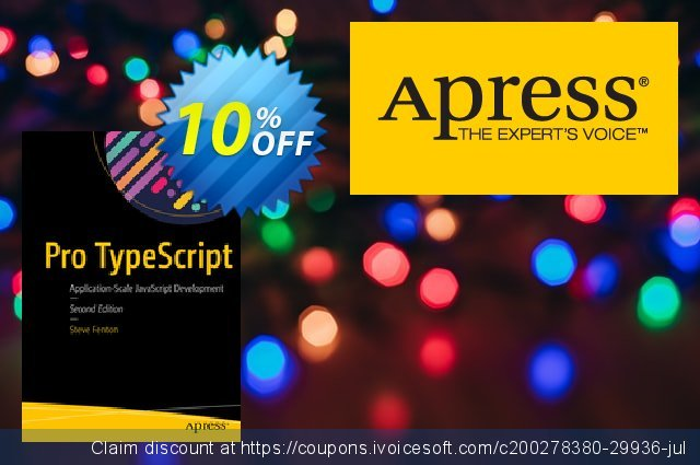 Pro TypeScript (Fenton) discount 10% OFF, 2020 Thanksgiving discount