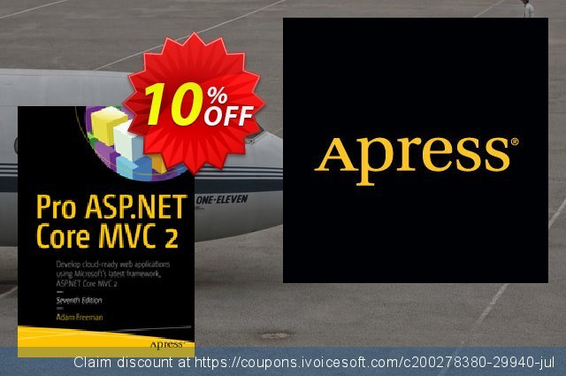 Pro ASP.NET Core MVC 2 (Freeman) discount 10% OFF, 2020 Thanksgiving Day promo sales