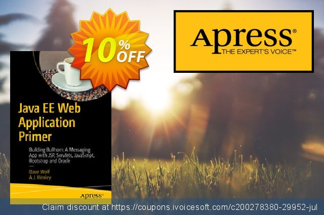Java EE Web Application Primer (Wolf) discount 10% OFF, 2020 Thanksgiving Day sales