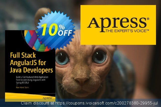 Full Stack AngularJS for Java Developers (Soni) discount 10% OFF, 2020 Christmas offering discount