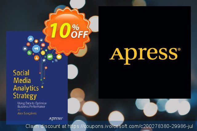Social Media Analytics Strategy (Gonçalves) discount 10% OFF, 2021 Happy New Year offering sales