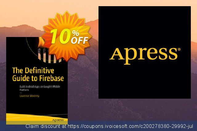 The Definitive Guide to Firebase (Moroney) discount 10% OFF, 2020 Black Friday offer