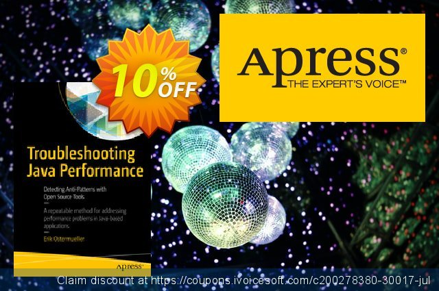 Troubleshooting Java Performance (Ostermueller) discount 10% OFF, 2020 Thanksgiving promo