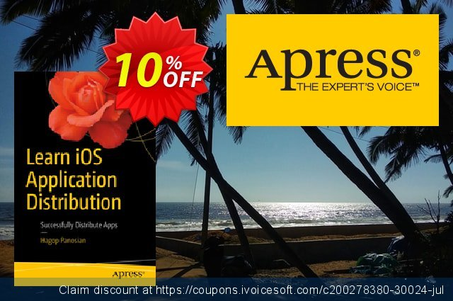 Learn iOS Application Distribution (Panosian) discount 10% OFF, 2020 End year offering sales