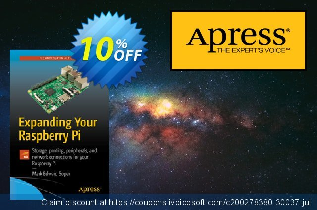 Expanding Your Raspberry Pi (Soper) discount 10% OFF, 2020 Xmas offering sales