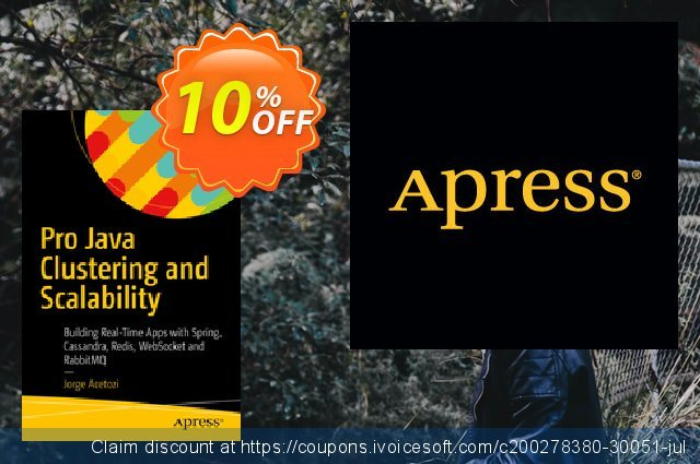 Pro Java Clustering and Scalability (Acetozi) discount 10% OFF, 2020 End year offering sales