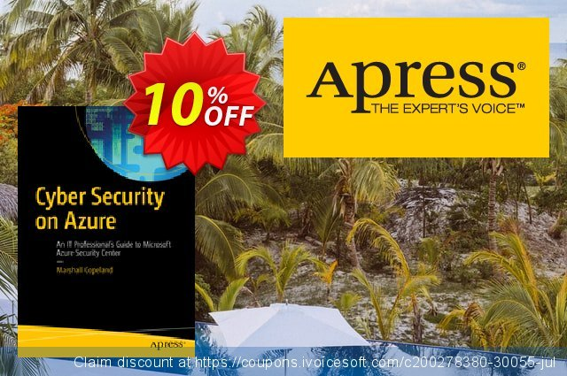 Cyber Security on Azure (Copeland) discount 10% OFF, 2020 Black Friday promo