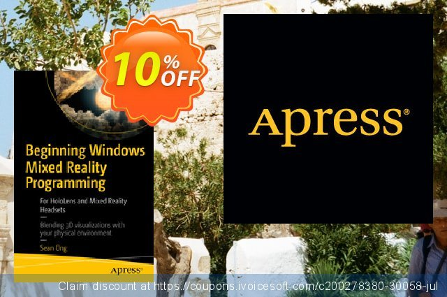 Beginning Windows Mixed Reality Programming (Ong) discount 10% OFF, 2020 Christmas Day offering sales