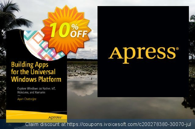 Building Apps for the Universal Windows Platform (Chatterjee) discount 10% OFF, 2020 Black Friday offering discount