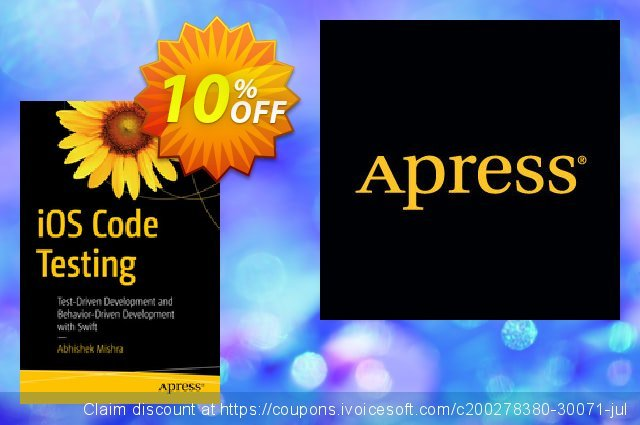 iOS Code Testing (Mishra) discount 10% OFF, 2020 Thanksgiving offering sales