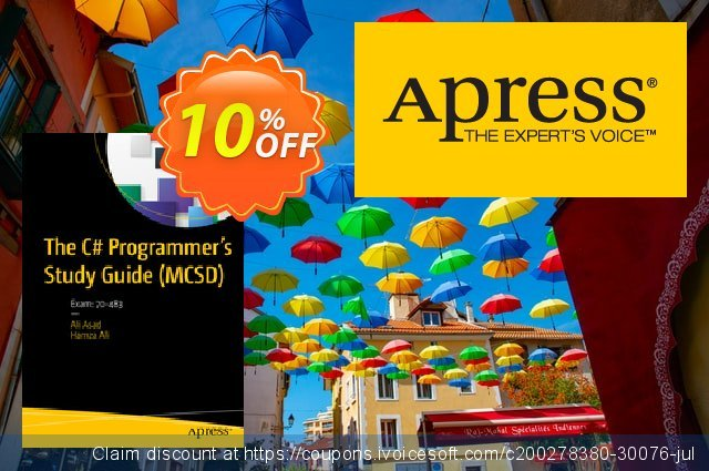 The C# Programmer's Study Guide (MCSD) (Asad) discount 10% OFF, 2021 New Year's Day sales