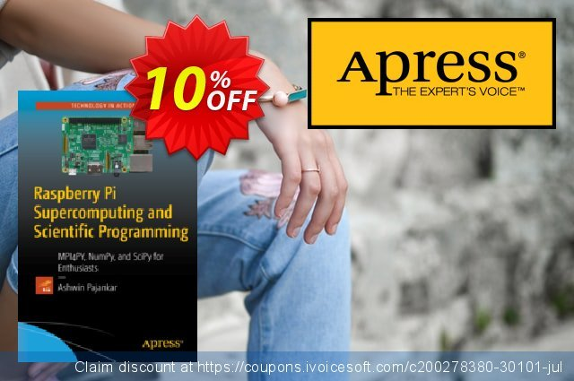 Raspberry Pi Supercomputing and Scientific Programming (Pajankar) discount 10% OFF, 2020 Thanksgiving offering sales