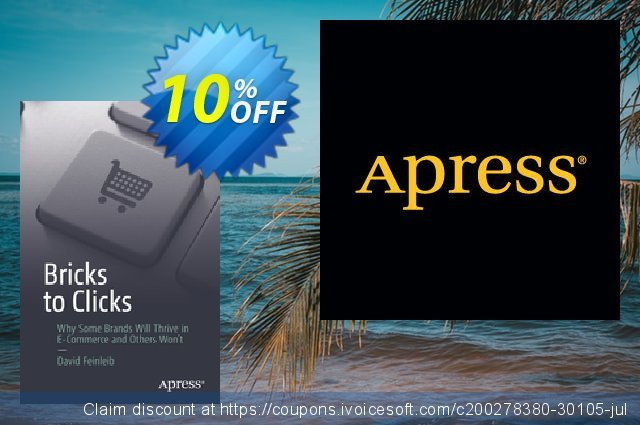 Bricks to Clicks (Feinleib) discount 10% OFF, 2021 Happy New Year offering sales
