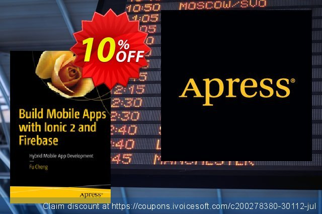 Build Mobile Apps with Ionic 2 and Firebase (Cheng) discount 10% OFF, 2021 Happy New Year discounts