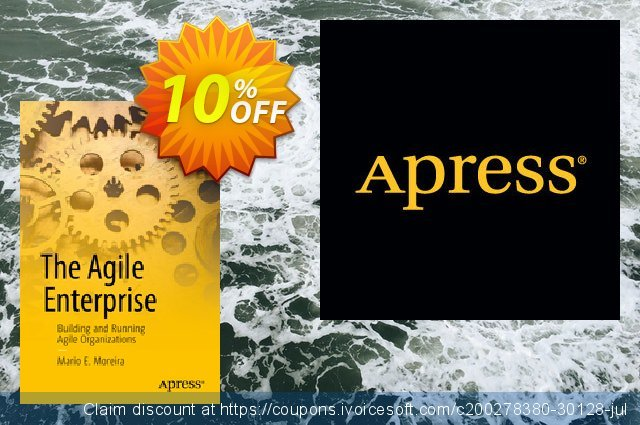 The Agile Enterprise (Moreira) discount 10% OFF, 2021 Happy New Year offering sales
