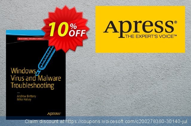 Windows Virus and Malware Troubleshooting (Bettany) discount 10% OFF, 2021 Happy New Year promo sales