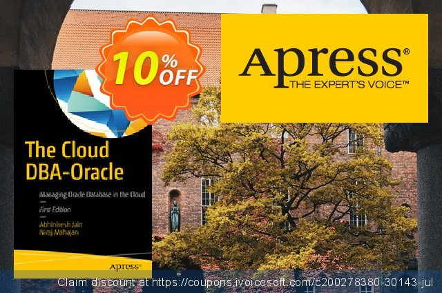 The Cloud DBA-Oracle (Jain) discount 10% OFF, 2021 New Year's Weekend offering sales