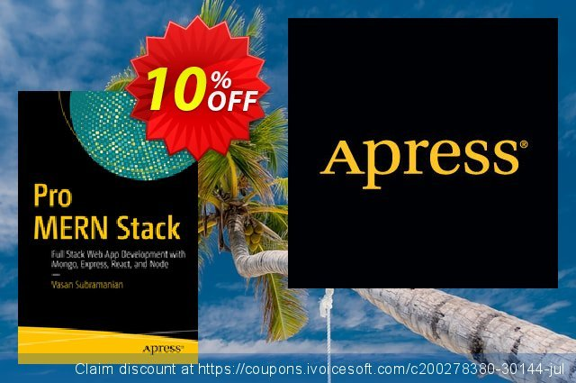 Pro MERN Stack (Subramanian) discount 10% OFF, 2021 Spring offering sales