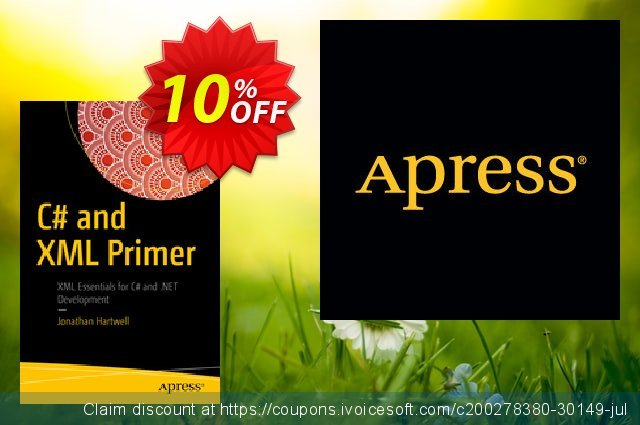 C# and XML Primer (Hartwell) discount 10% OFF, 2021 Happy New Year offering sales