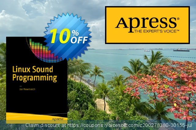 Linux Sound Programming (Newmarch) discount 10% OFF, 2021 January discount