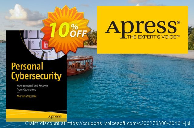 Personal Cybersecurity (Waschke) discount 10% OFF, 2021 Happy New Year offering sales