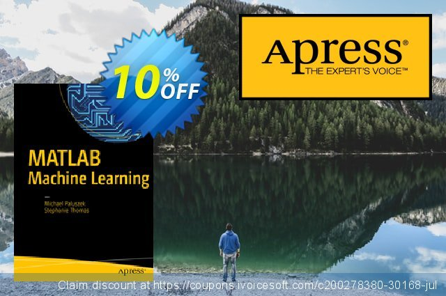 MATLAB Machine Learning (Paluszek) discount 10% OFF, 2021 Happy New Year offering sales