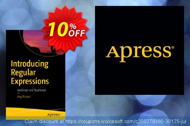 Introducing Regular Expressions (Krause) discount 10% OFF, 2021 Happy New Year offering discount