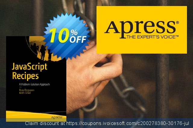 JavaScript Recipes (Ferguson) discount 10% OFF, 2021 January offering sales