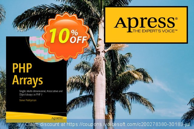 PHP Arrays (Prettyman) discount 10% OFF, 2021 January offering sales