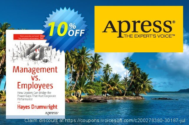 Management vs. Employees (Drumwright) discount 10% OFF, 2021 New Year offering sales