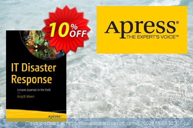 IT Disaster Response (Moore) discount 10% OFF, 2021 Spring discounts