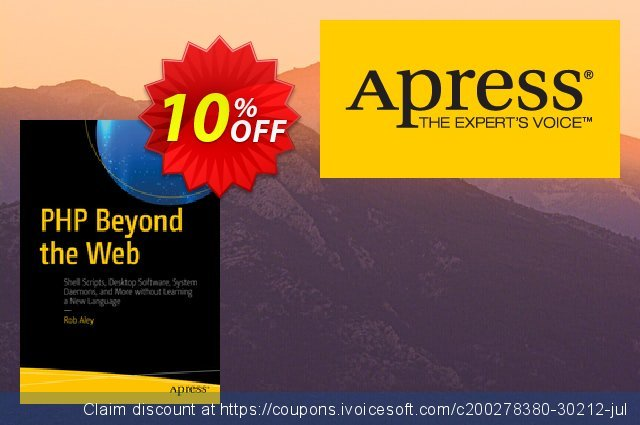 PHP Beyond the Web (Aley) discount 10% OFF, 2021 Happy New Year discount