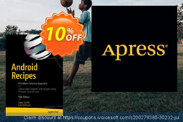 Android Recipes (Smith) discount 10% OFF, 2021 January offering discount