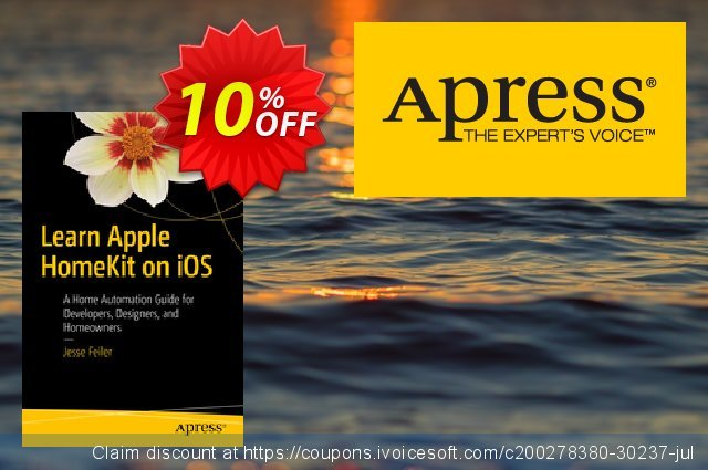 Learn Apple HomeKit on iOS (Feiler) discount 10% OFF, 2021 New Year's Day offering sales