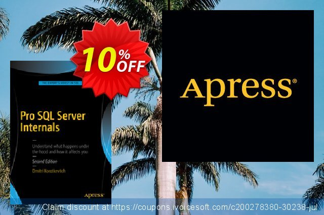 Pro SQL Server Internals (Korotkevitch) discount 10% OFF, 2021 Happy New Year offering sales