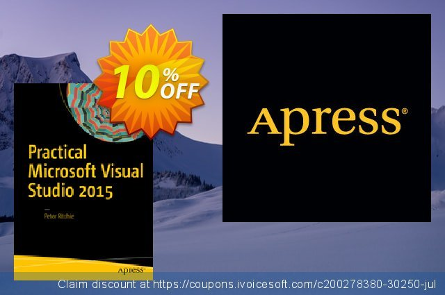Practical Microsoft Visual Studio 2015 (Ritchie) discount 10% OFF, 2021 New Year discount