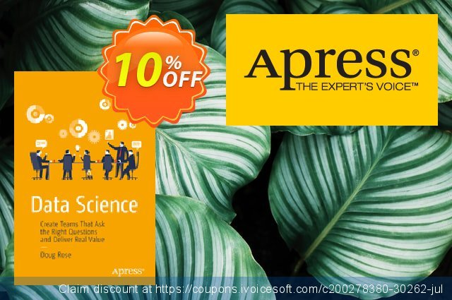 Data Science (Rose) discount 10% OFF, 2021 New Year's Weekend offering sales