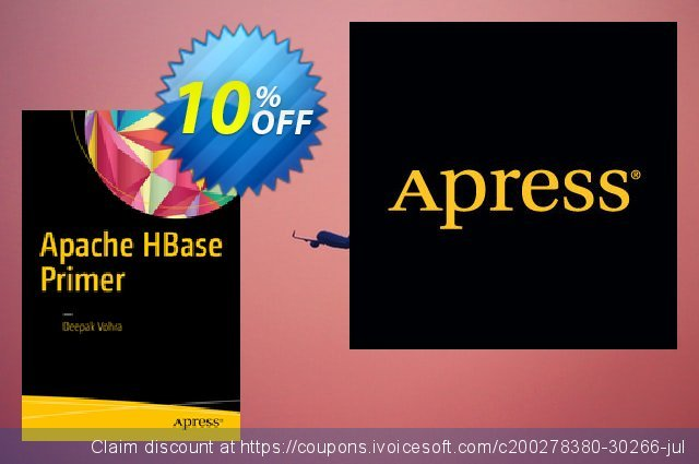 Apache HBase Primer (Vohra) discount 10% OFF, 2021 Happy New Year sales