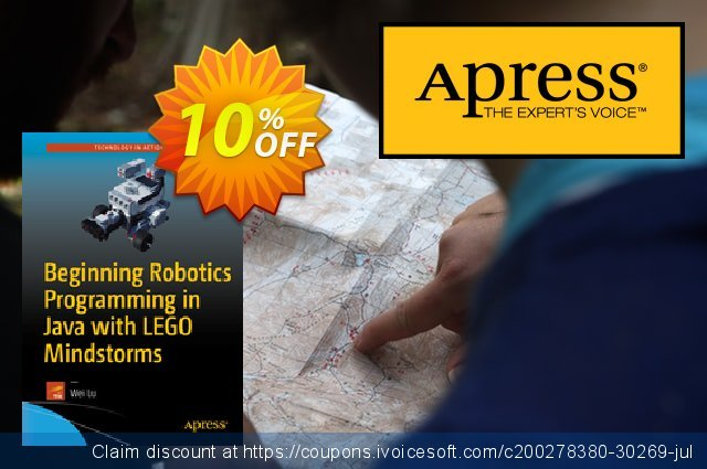 Beginning Robotics Programming in Java with LEGO Mindstorms (Lu) discount 10% OFF, 2021 New Year's Weekend discount