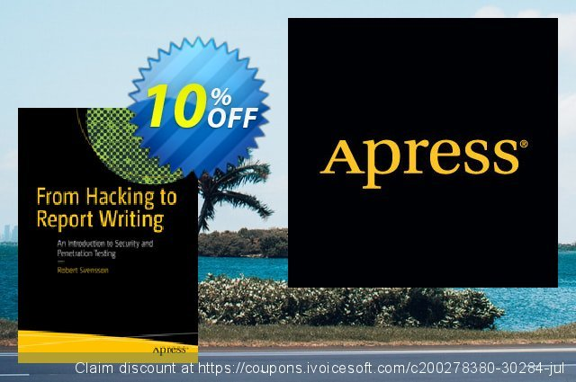 From Hacking to Report Writing (Svensson) discount 10% OFF, 2021 Spring promotions